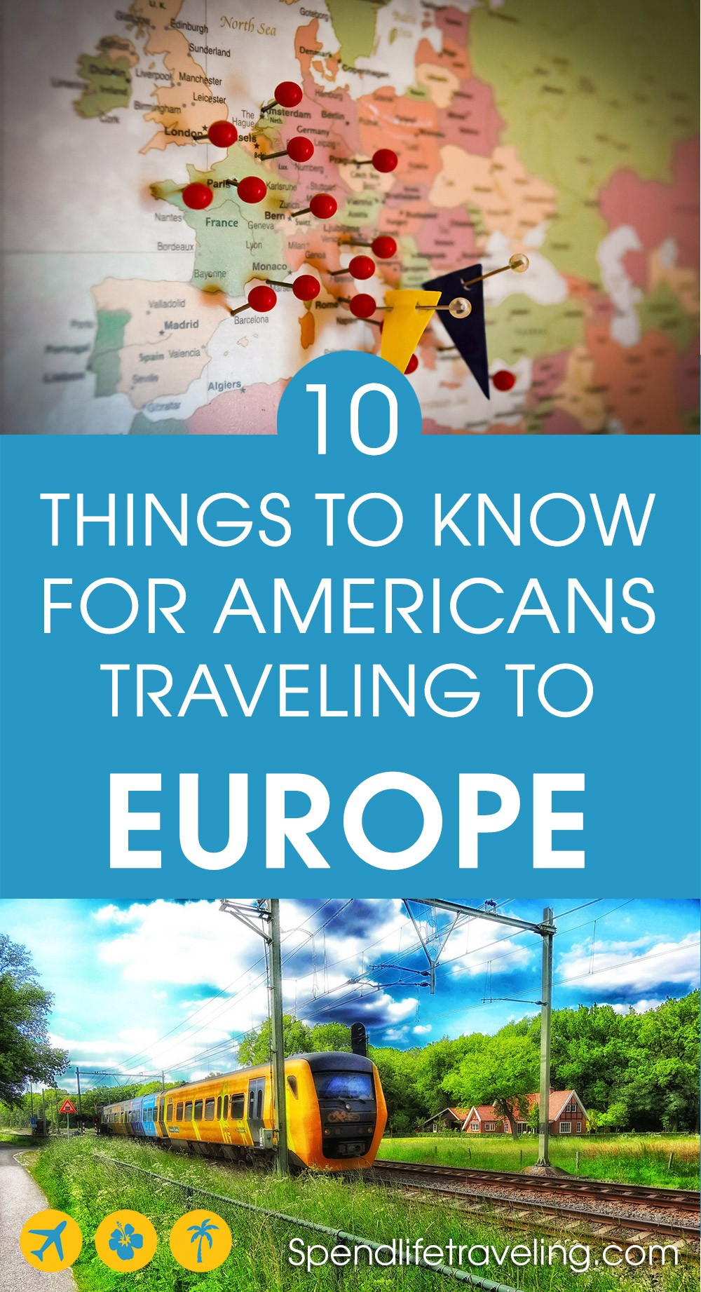 Are you planning to travel to #Europe? These are 10 useful things to know about Europe before taking your first trip. #traveltips #travelEurope #visitEurope #travelingabroad