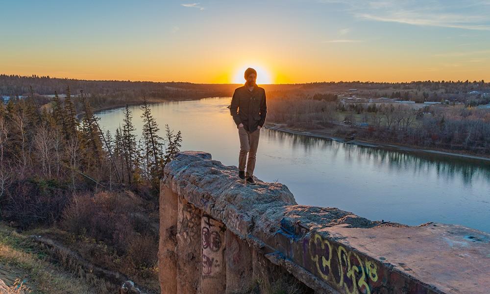 Ben, an expat in Edmonton, Canada