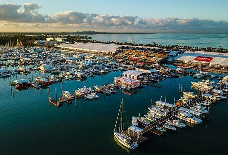 Places to visit by boat in Miami: Miami International Boat Show