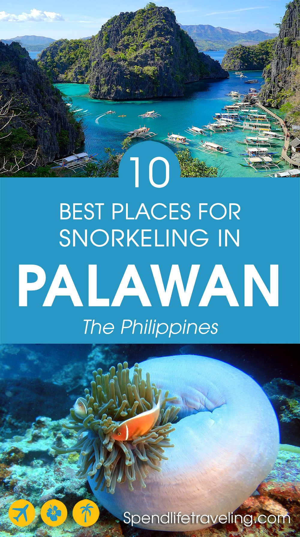 10 great snorkeling spots in Palawan, Philippines