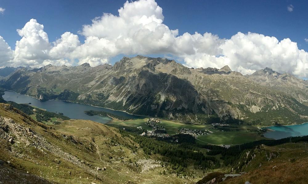 Best views of Switzerland: Sils Maria