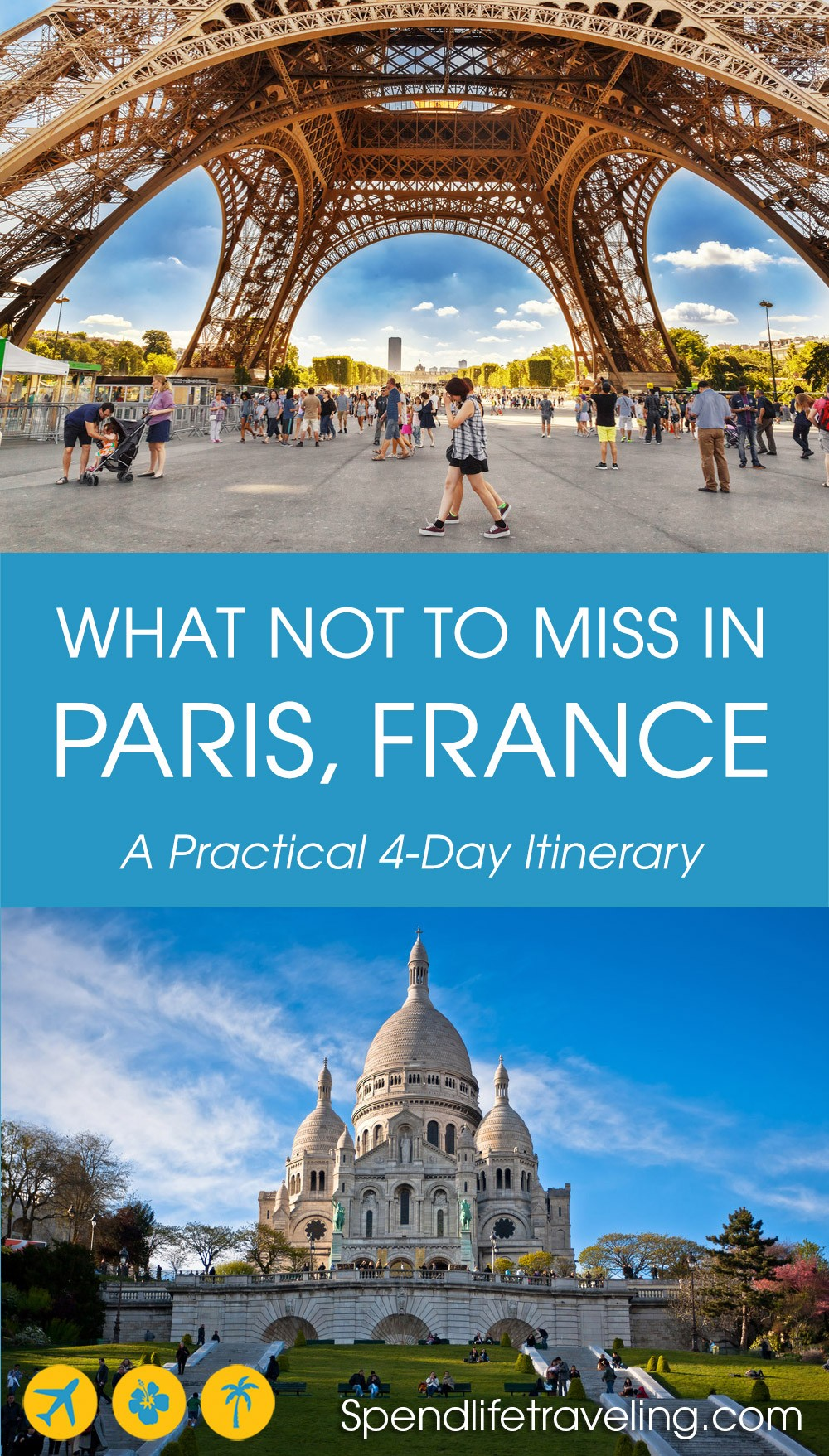 Paris Itinerary 4 Days In Paris What To See Do