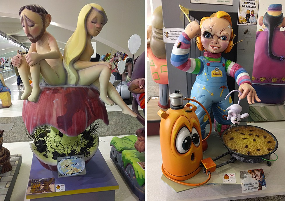 What to know about Las Fallas in Valencia - Ninot exposition