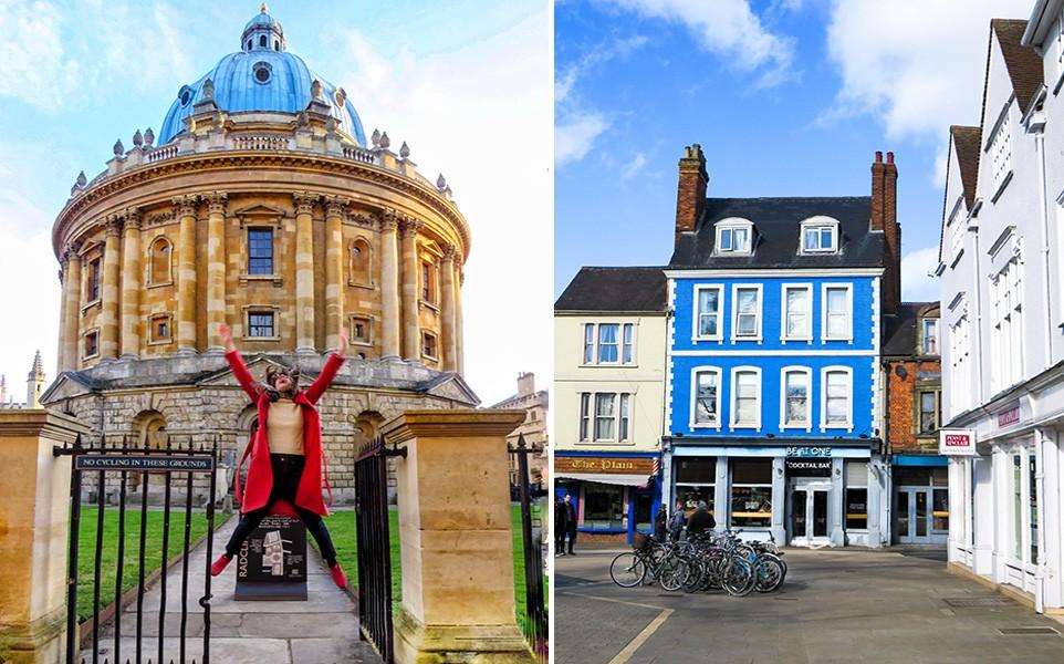 expat in Oxford, UK