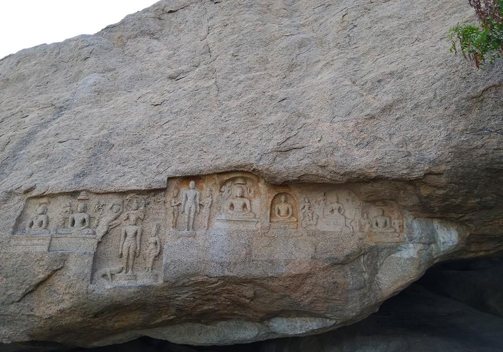 Places to see around Madurai: Jain caves
