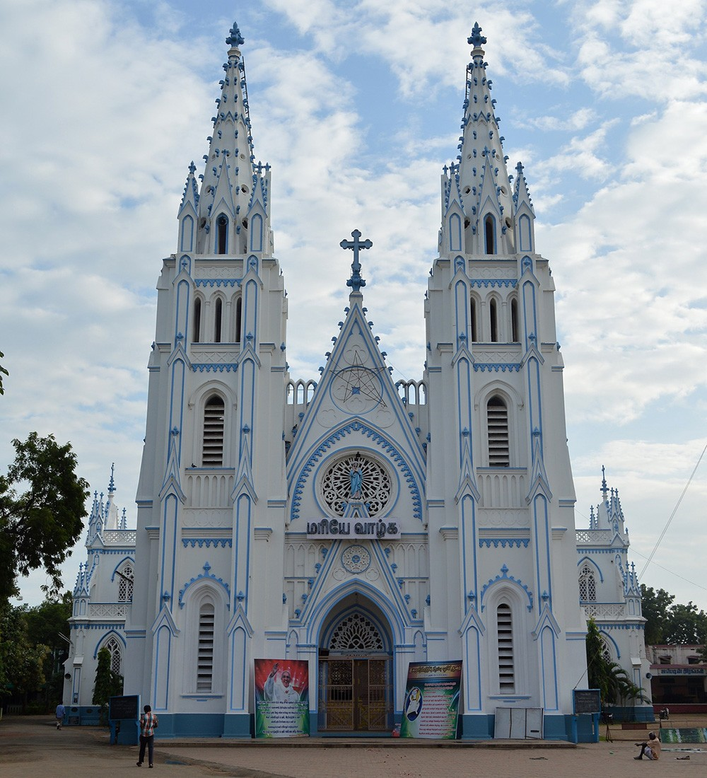 Things to see in Madurai: St. Mary's Cathedral