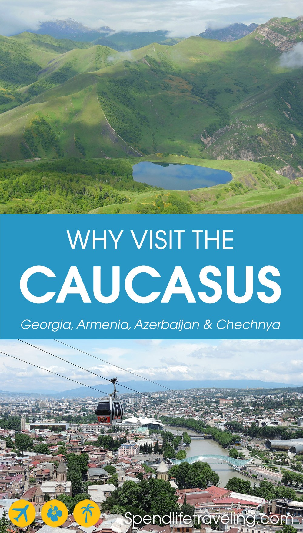 Where to go in the #Caucasus region. #Georgia #Armenia #Azerbaijan #Chechnya