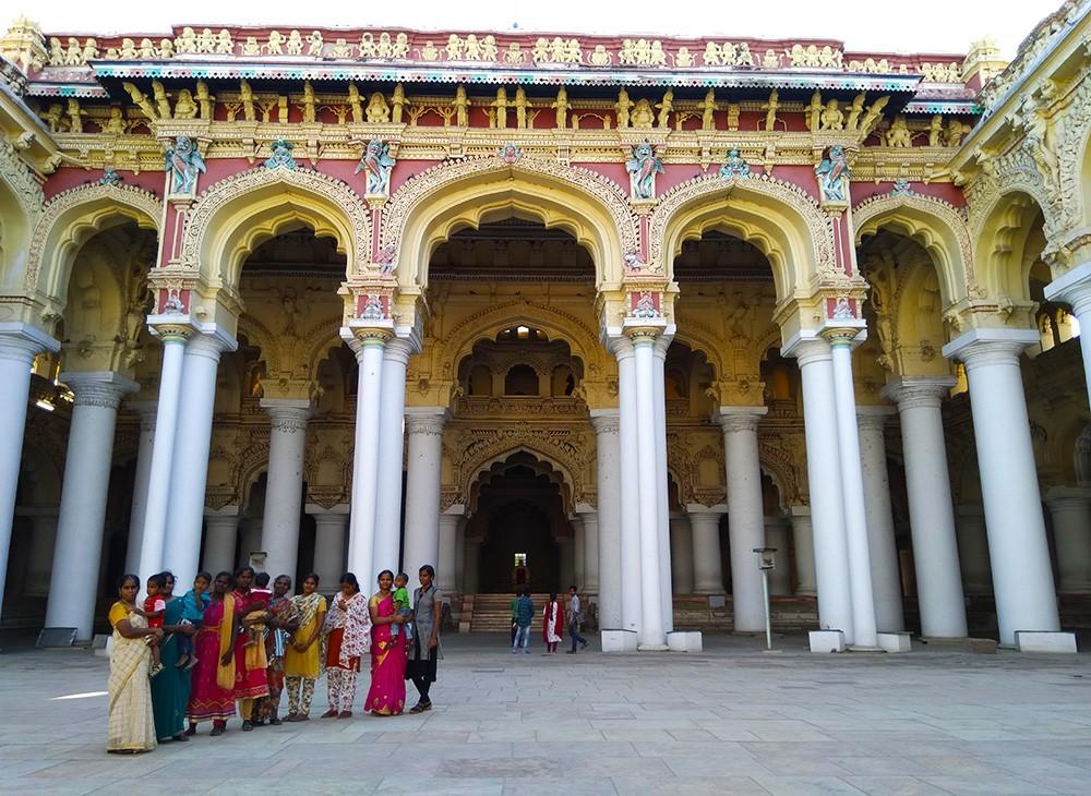 Travel to Madurai: Places to visit in Madurai - Thirumalai Nayak Temple Palace