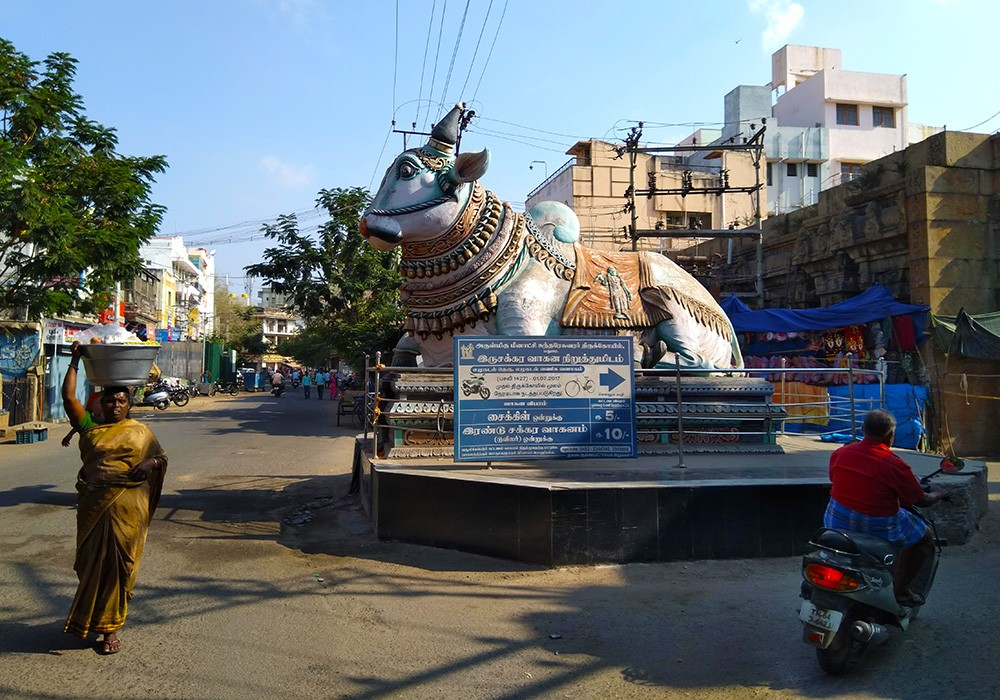 Traveling to Madurai: things to see in Madurai - Elu Kadal Street