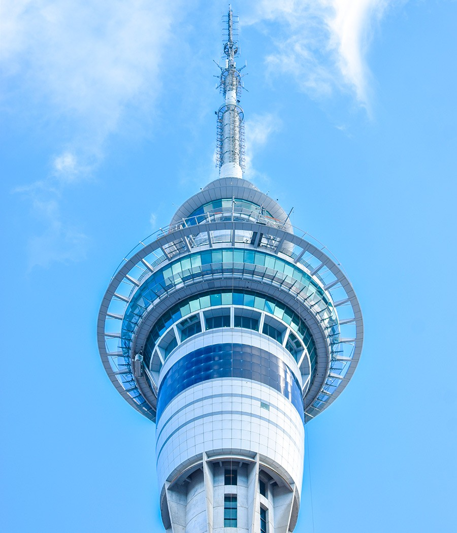 Sky Tower, part of the 7 days New Zealand North Island itinerary