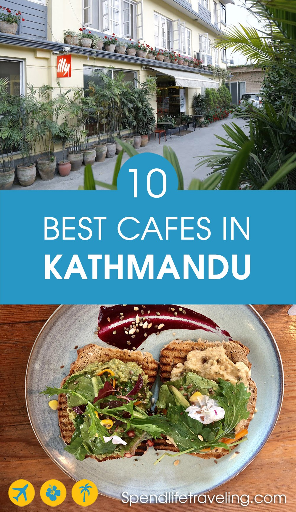 Looking for the best coffee, great food or a good cafe to work from? These are 10 of the best cafes and coffee shops in #Kathmandu. #travelNepal