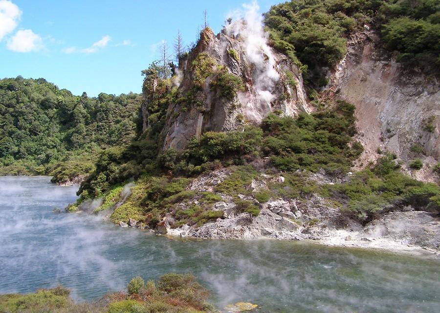 Waimangu - New Zealand North Island itinerary