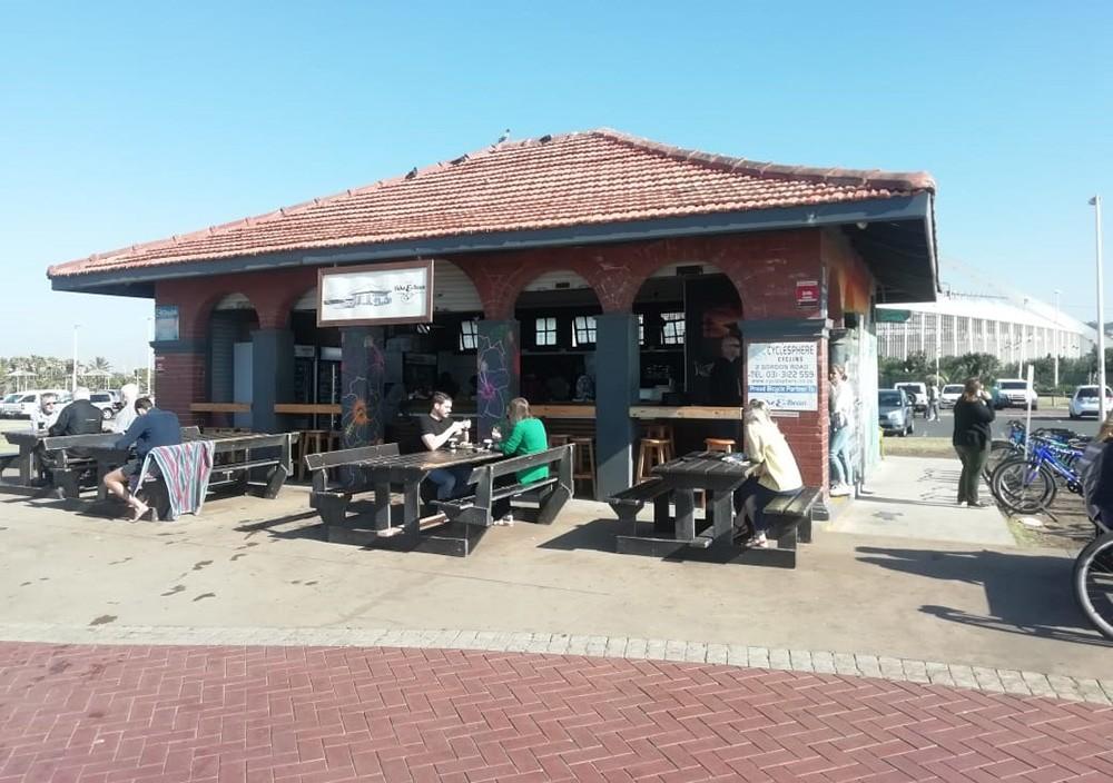 Bike & Bean - breakfast in Durban