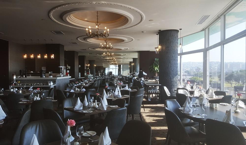 Blue Waters - buffet breakfast in Durban