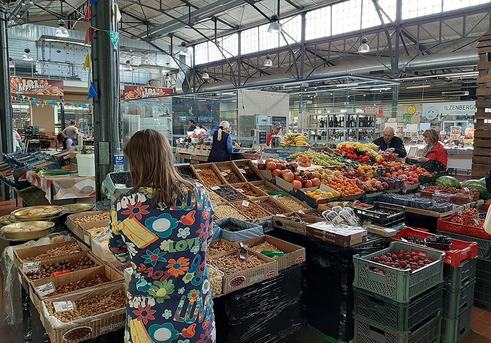 Food in Vilnius: Halle Market