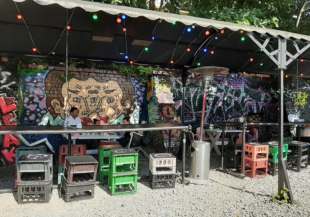 bar food in Vilnius: Keule Ruke