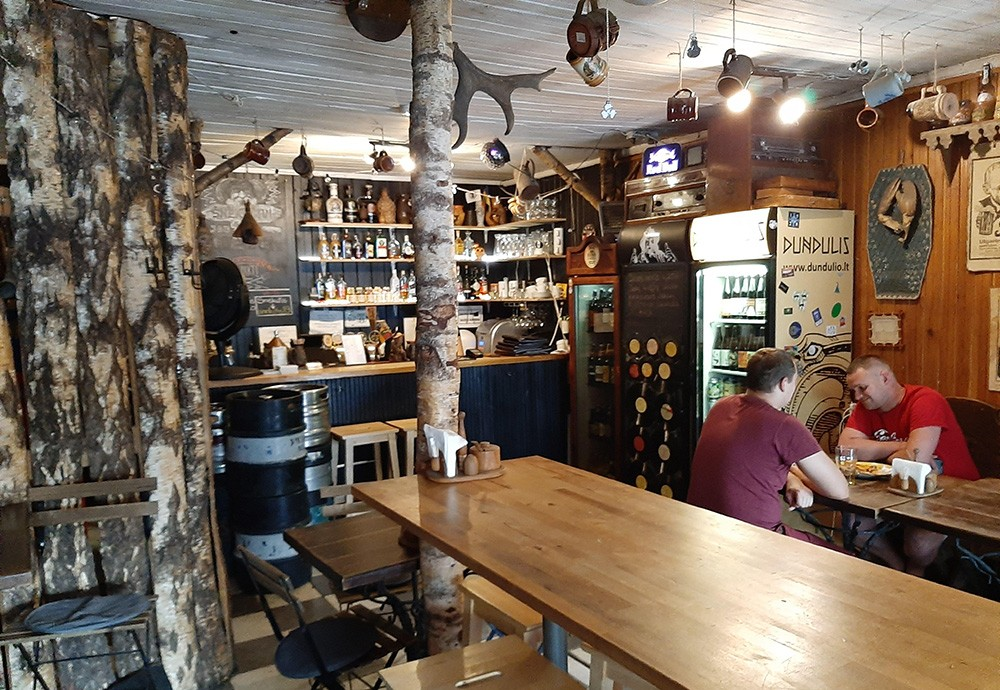 living in Vilnius - bars and restaurants to visit