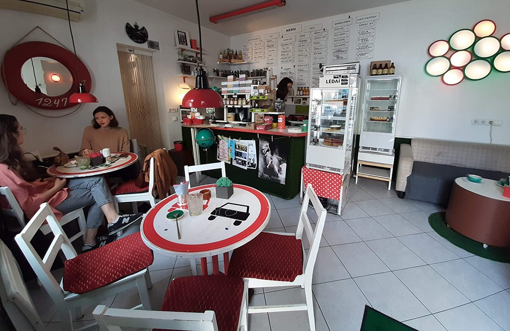 Places to eat in Vilnius: Chaika