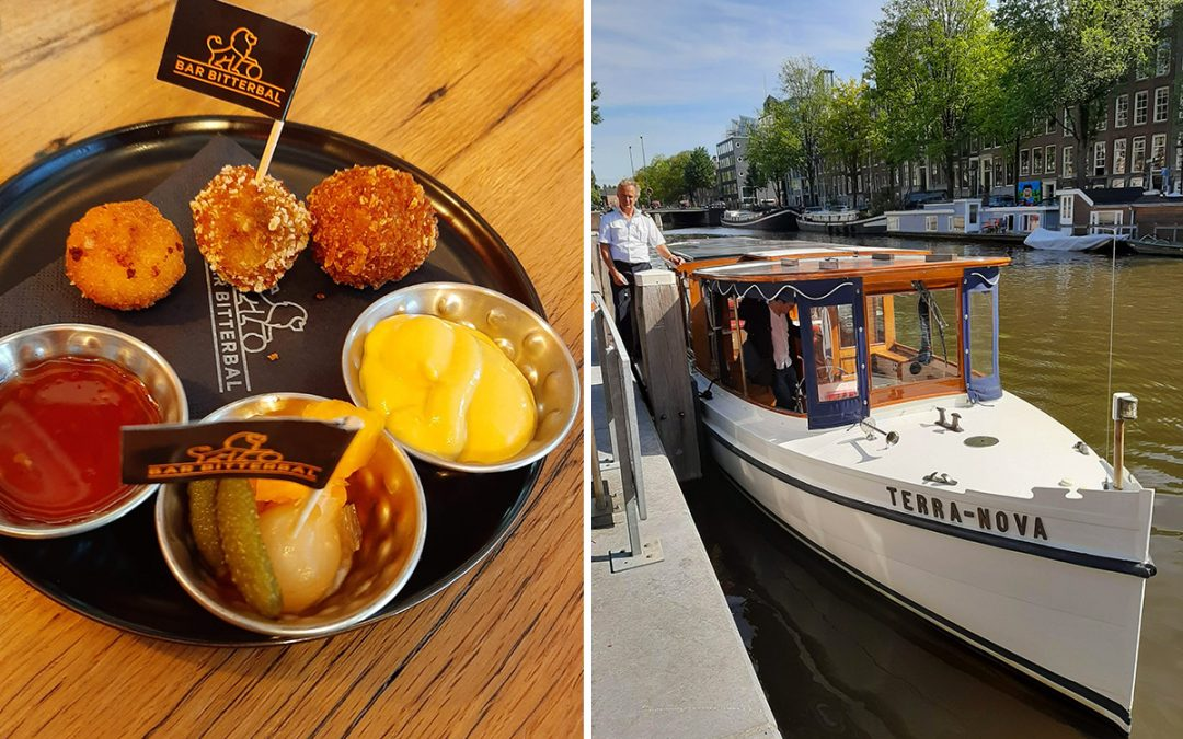 An Amsterdam Canal Cruise & Food Tour Combined! – My Review & Tips