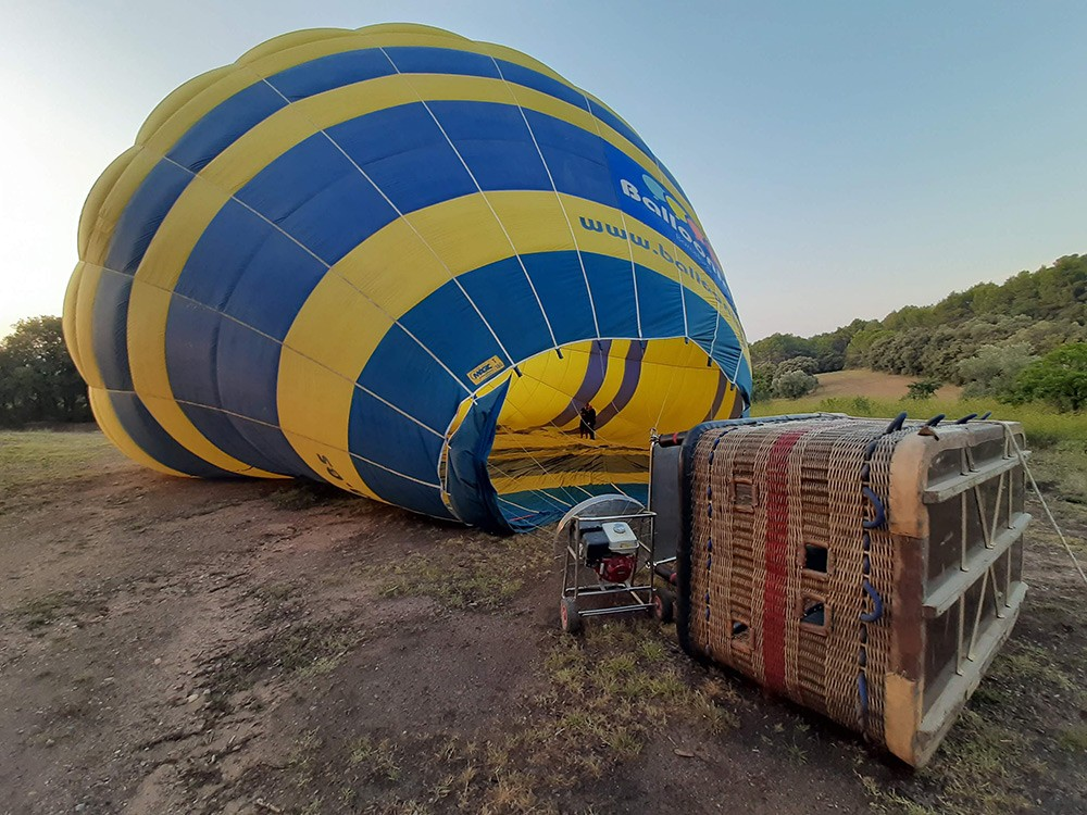 tips for hot air ballooning in Barcelona