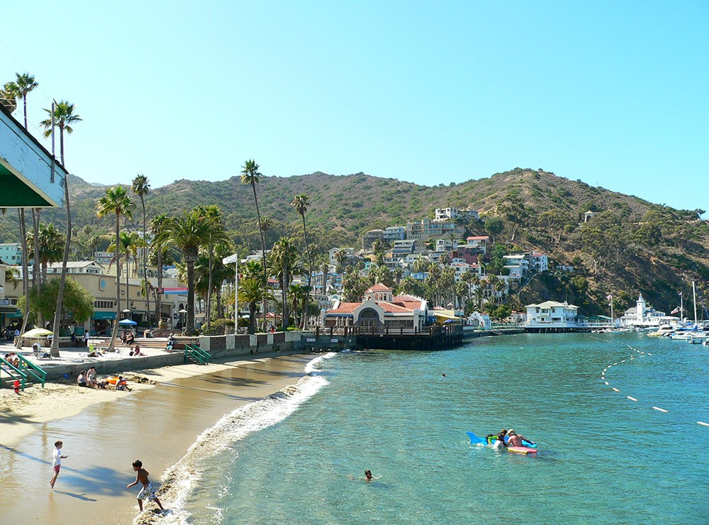 One day in Catalina Island - enjoy the beach