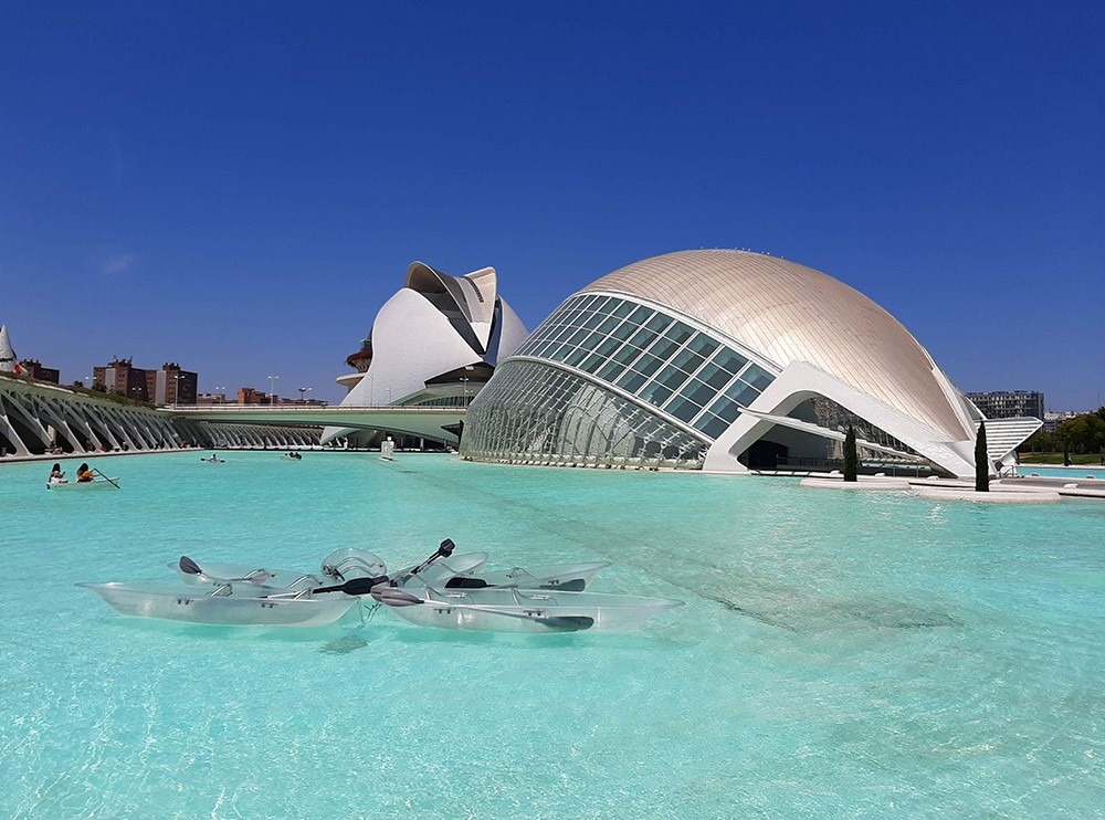 best places to stay in Valencia around the City of Arts & Sciences