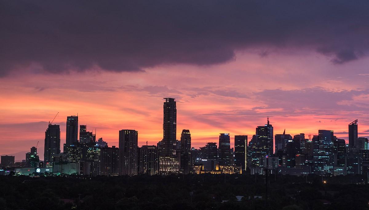 a view of Manila