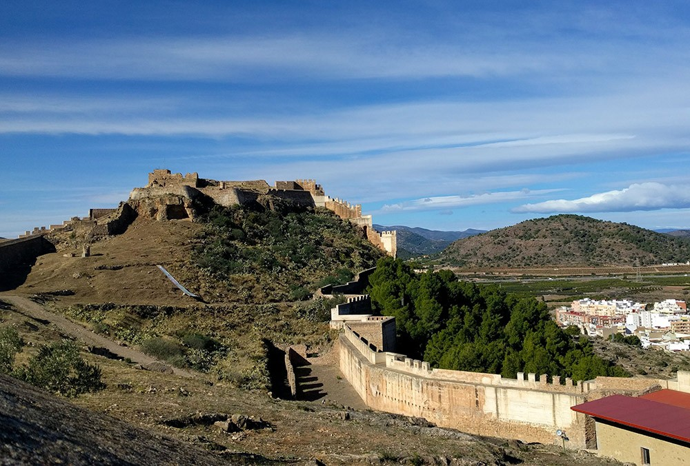Sagunto Castle, an easy day trip from Valencia by train