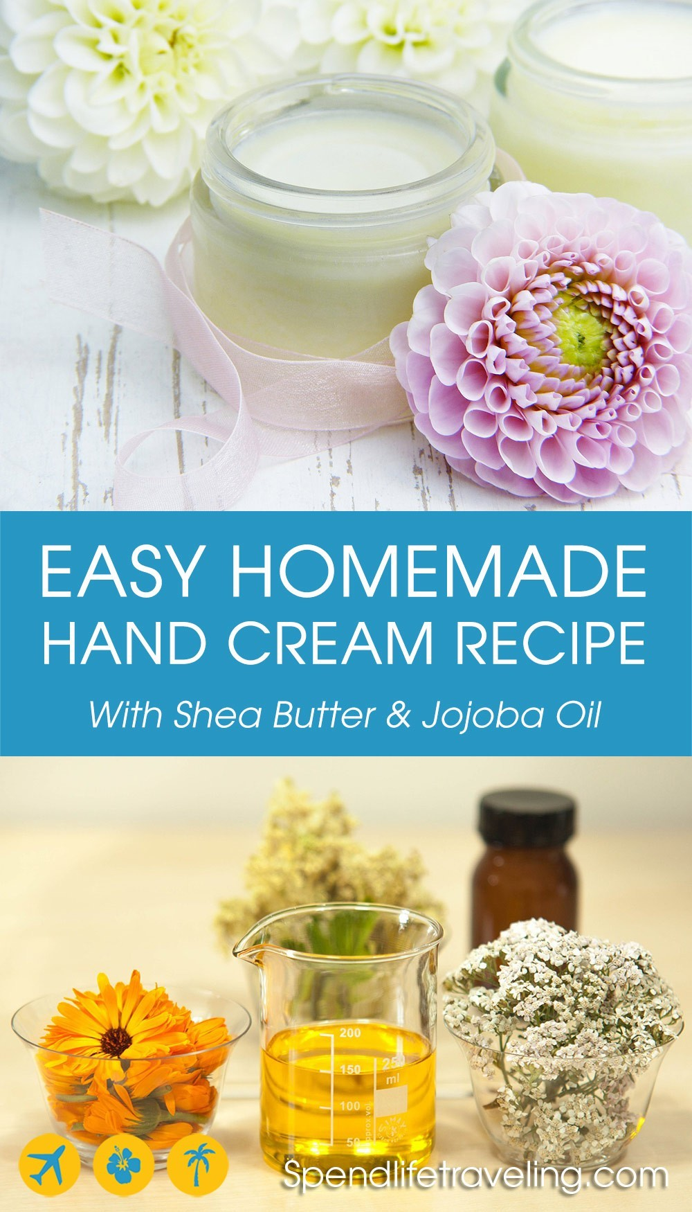 an easy homemade hand cream recipe