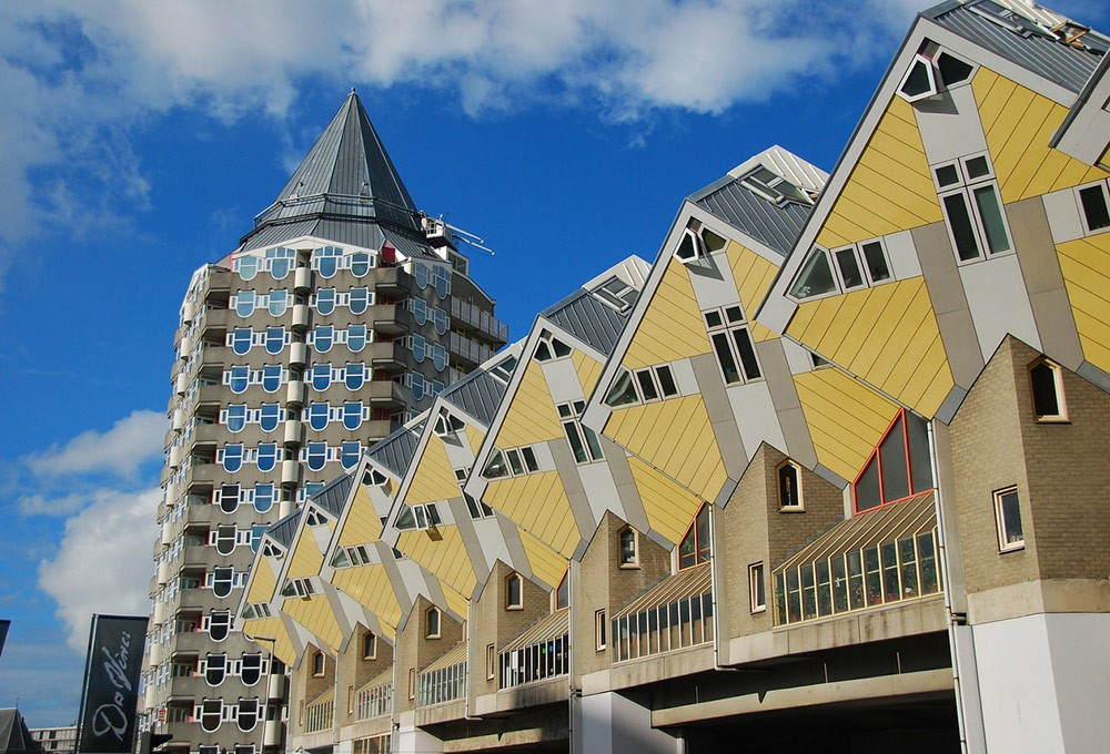 Rotterdam's famous cube houses