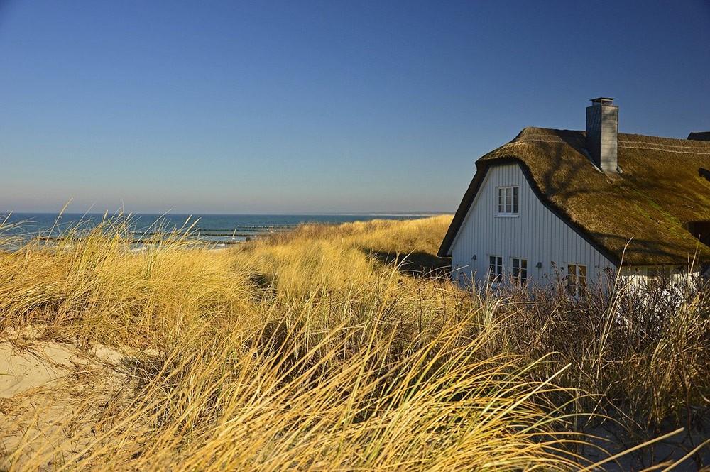 a house on Germany's coast