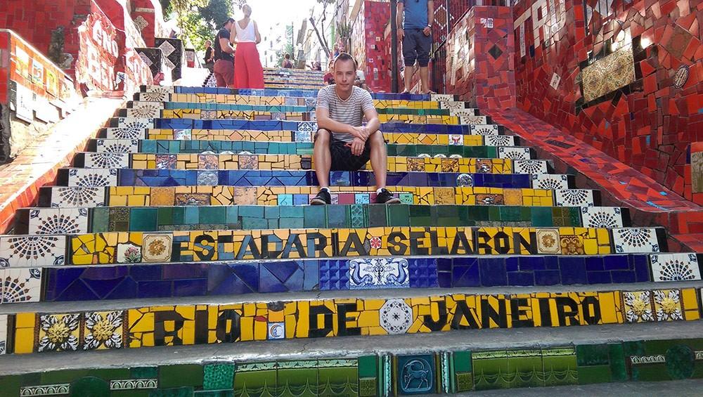 Frank, an expat living in Rio de Janeiro