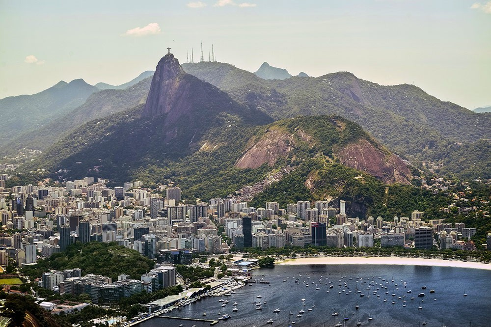 a view of Rio and Christ the Redeemer