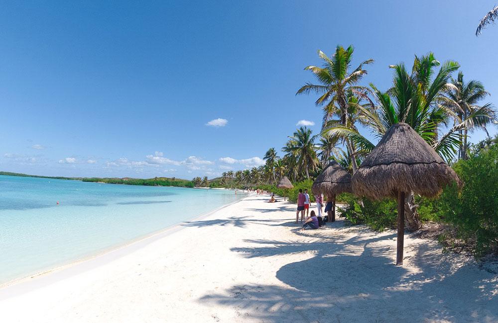 Cancun's pristine beaches