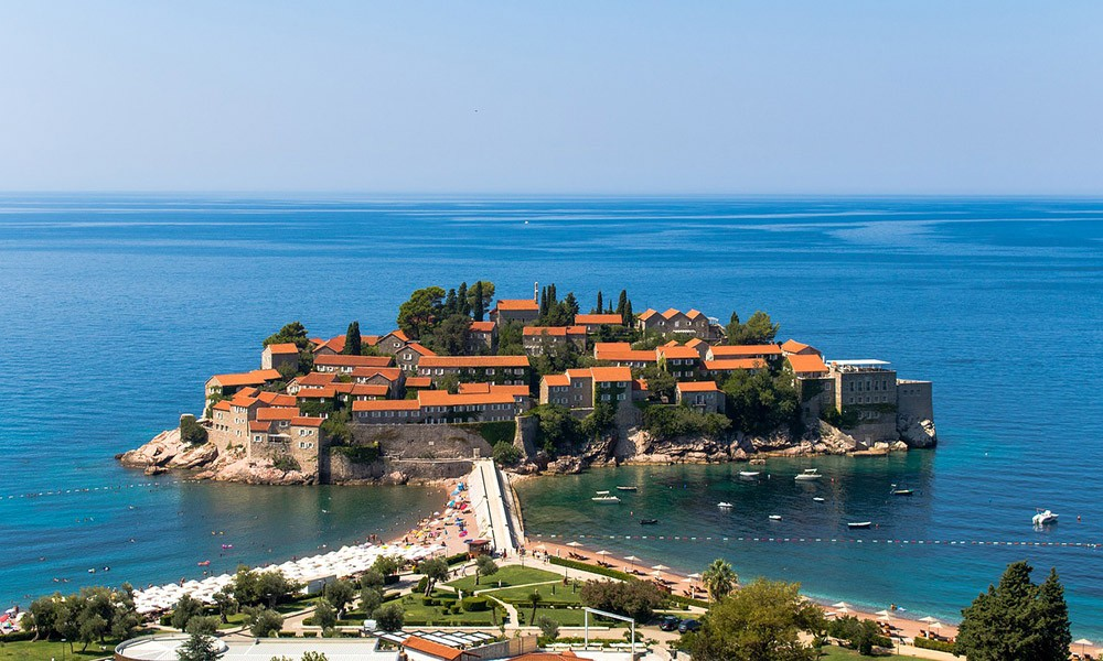 Sveti Stefan: a must-see on a Montenegro road trip