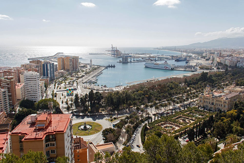 Malaga, one of the best places for digital nomads in Spain