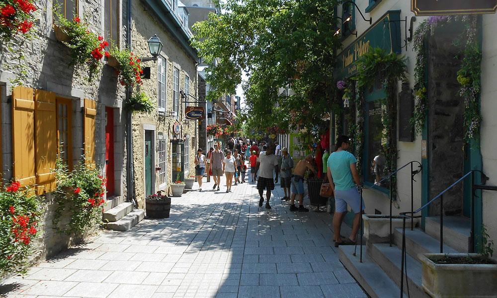 Petit Champlain restaurants