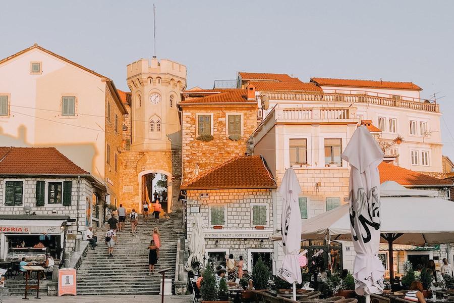 Herceg Novi's old town