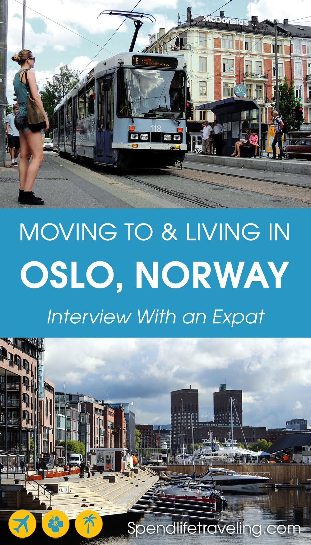 moving to and living in Oslo