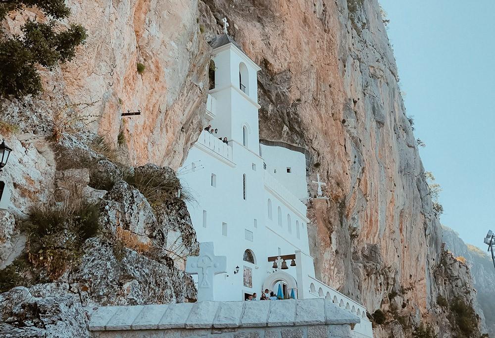 the Ostrog Monastery