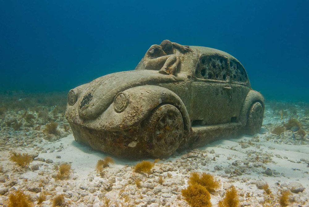MUSA underwater sculptures